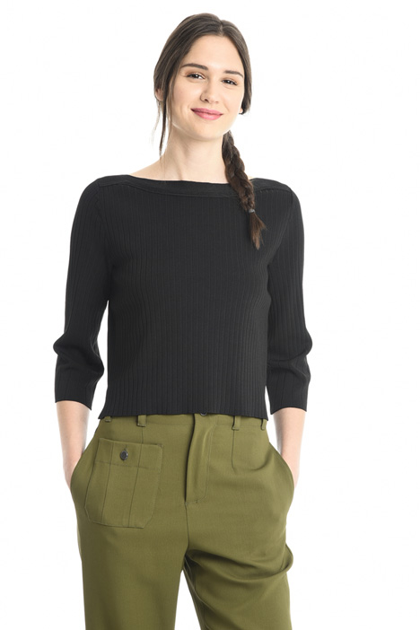 Rib worked sweater Intrend