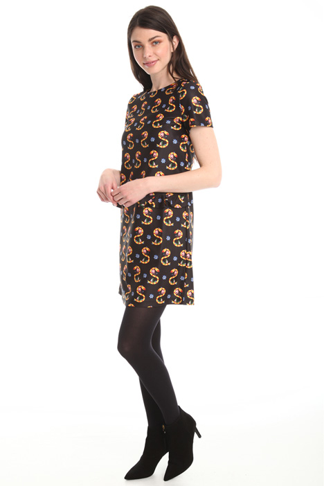 Printed jersey dress Diffusione Tessile