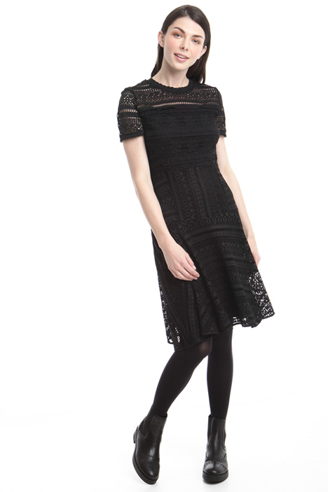 Lace-effect dress Diffusione Tessile