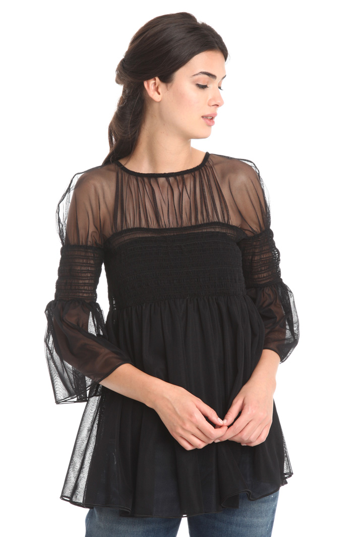 Top in tulle Diffusione Tessile