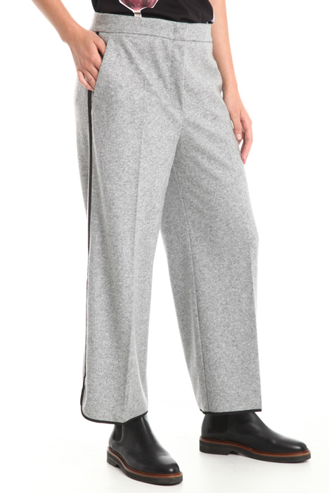 Pantaloni in feltro di lana Diffusione Tessile