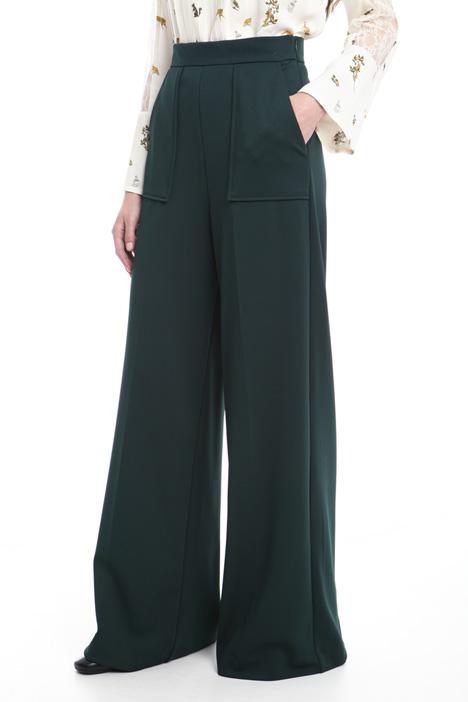 Pantaloni palazzo con tasche Diffusione Tessile