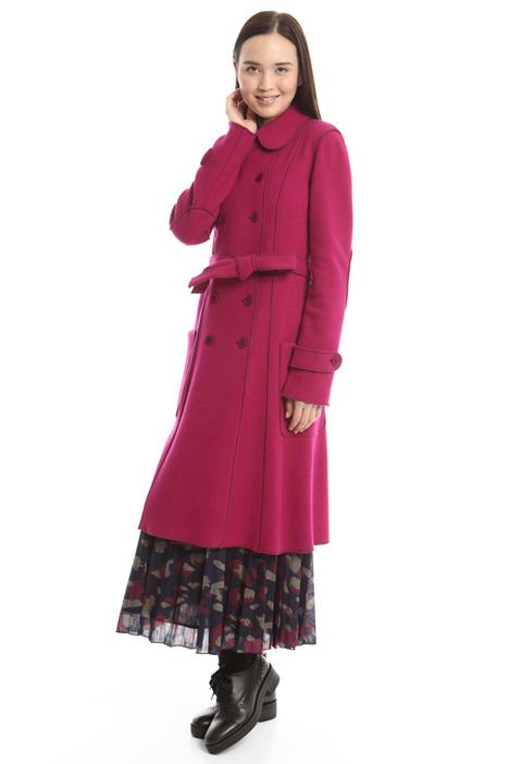 Cappotto in jersey di lana Diffusione Tessile