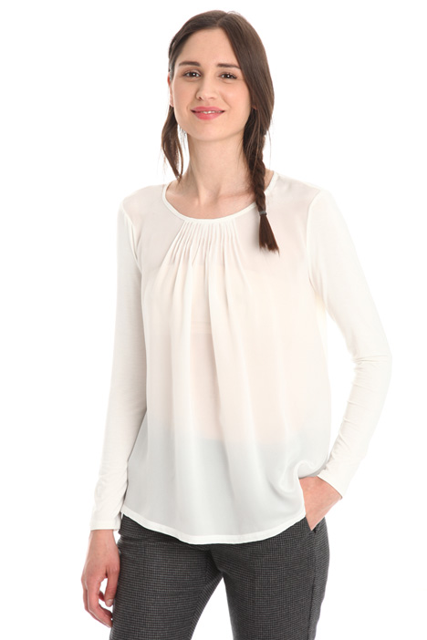 T-shirt in jersey fluido Diffusione Tessile
