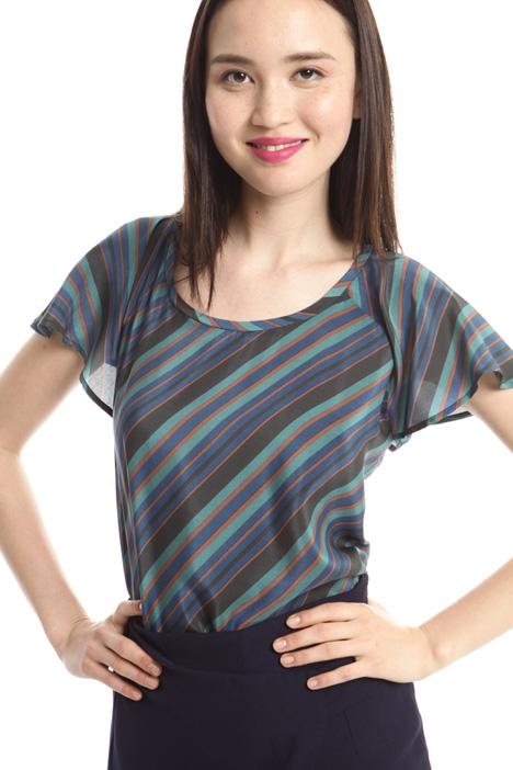 Crepe de chine T-shirt Diffusione Tessile
