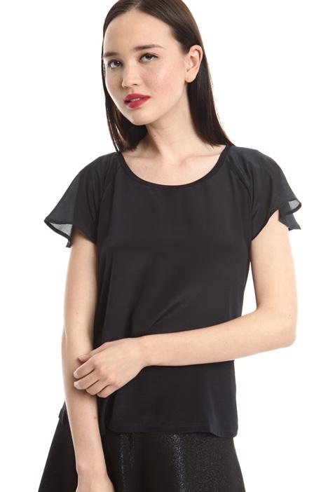 T-shirt in crepe de chine Diffusione Tessile