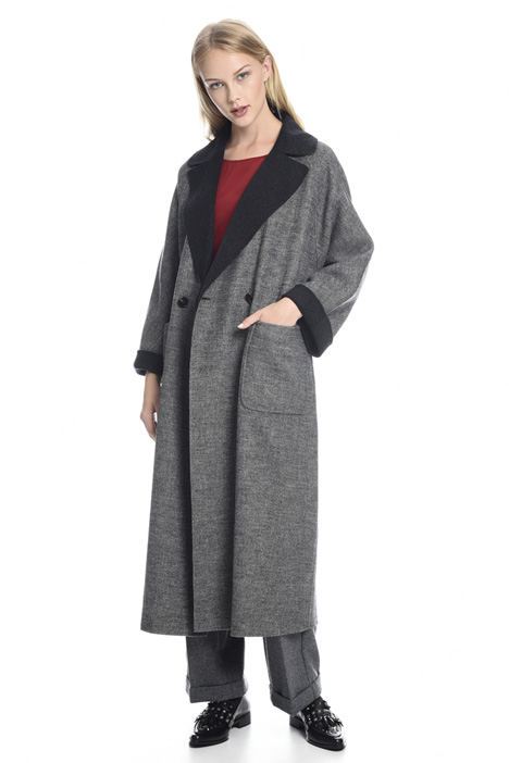 Double-face wool coat Diffusione Tessile