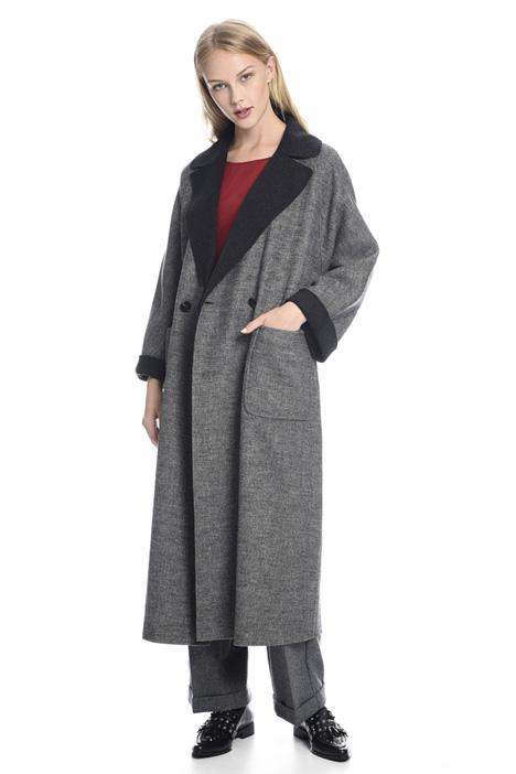 Double-face wool coat Diffusione Tessile