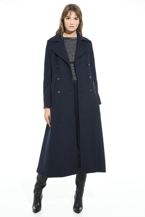 Cappotto doppiopetto in lana Diffusione Tessile
