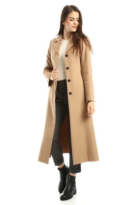 Long wool coat Diffusione Tessile