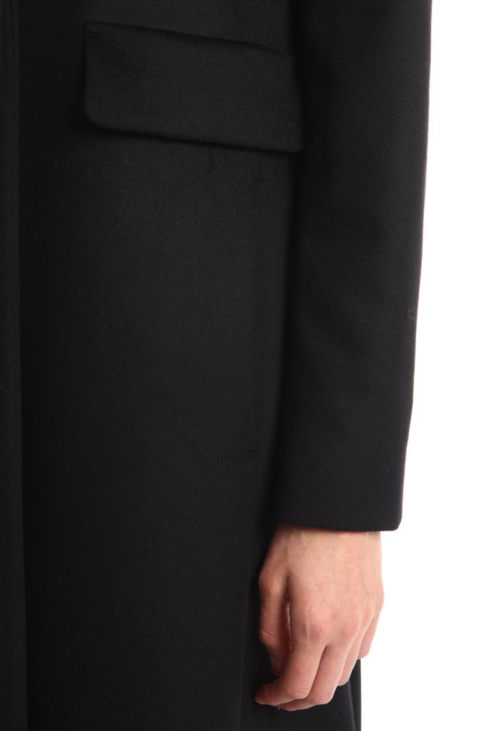 Cappotto lungo in drap Diffusione Tessile