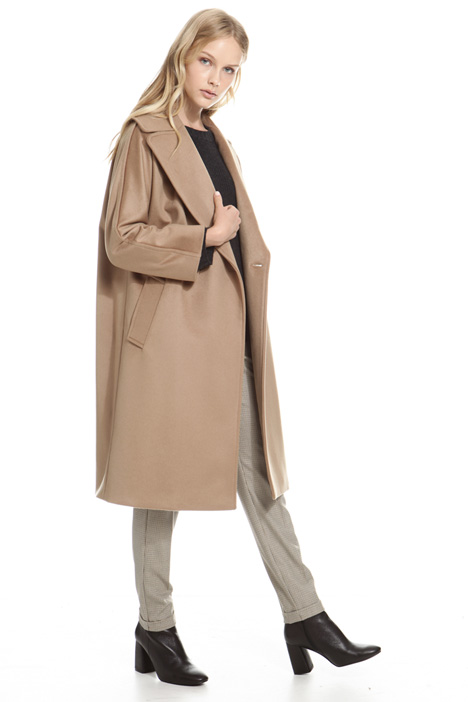 Wide lapel coat Diffusione Tessile