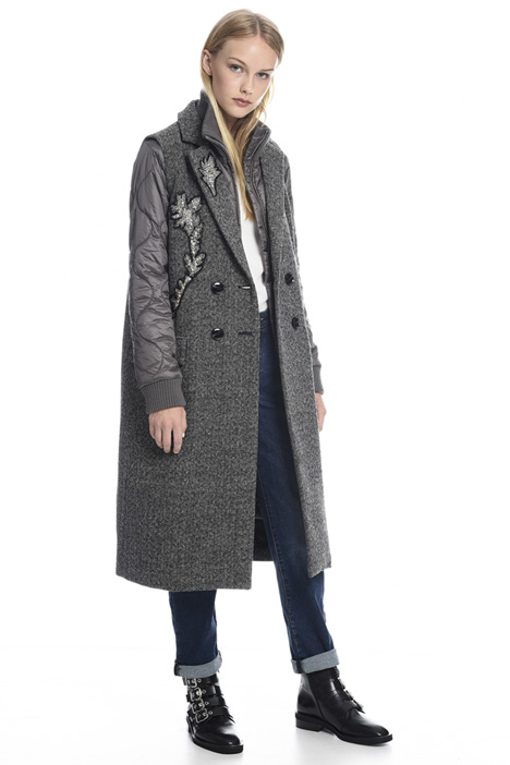 Modular padded coat Intrend