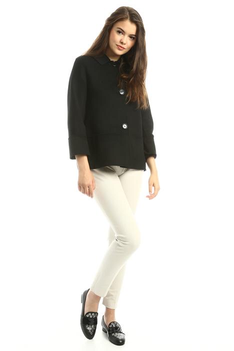 Cappotto corto in lana Diffusione Tessile