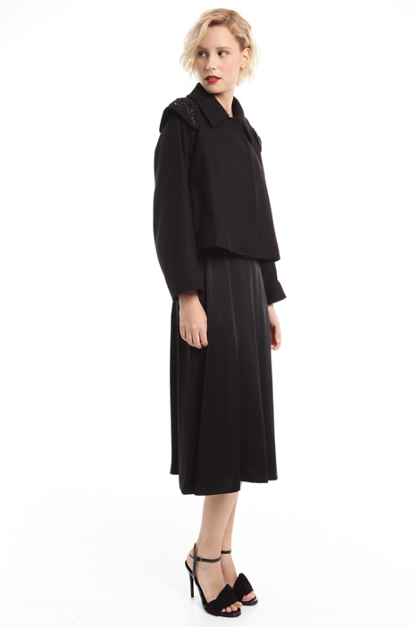 Short felted wool coat Diffusione Tessile
