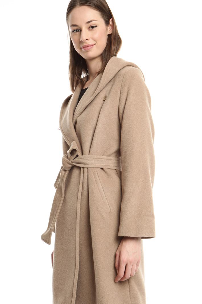 Cappotto in misto lana e seta Diffusione Tessile
