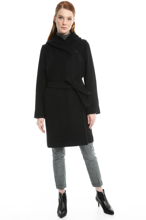 Silk and wool coat Diffusione Tessile