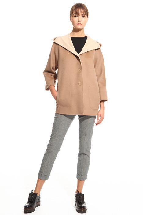 Cappotto con cappuccio Diffusione Tessile