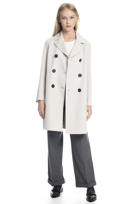 Lightweight coat in double  Diffusione Tessile