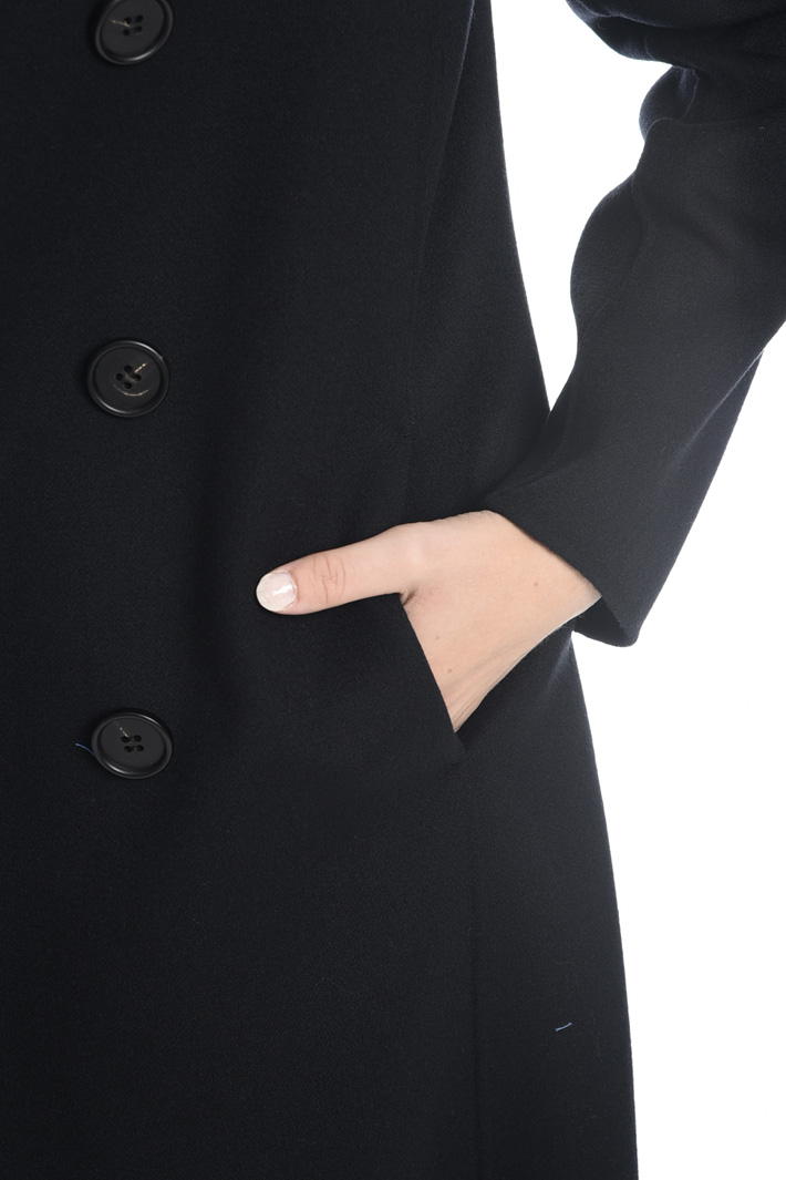 Cappotto leggero in double Diffusione Tessile