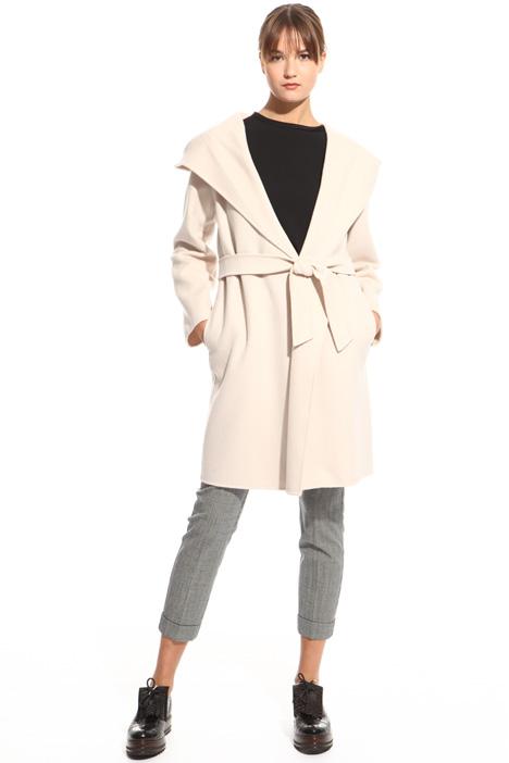Cappotto con cintura abbinata Diffusione Tessile