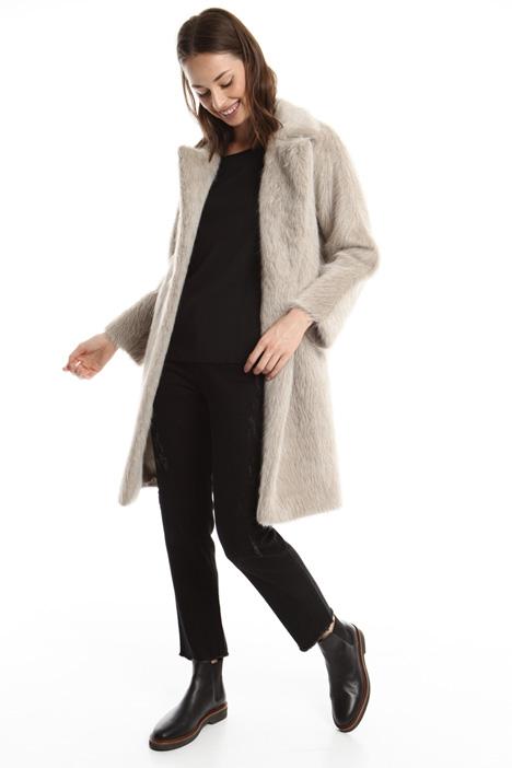 Cappotto in alpaca Diffusione Tessile