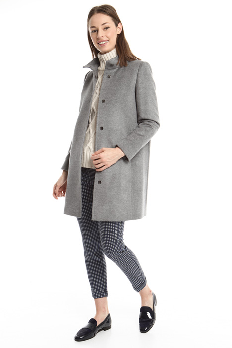 Pure virgin wool coat Diffusione Tessile