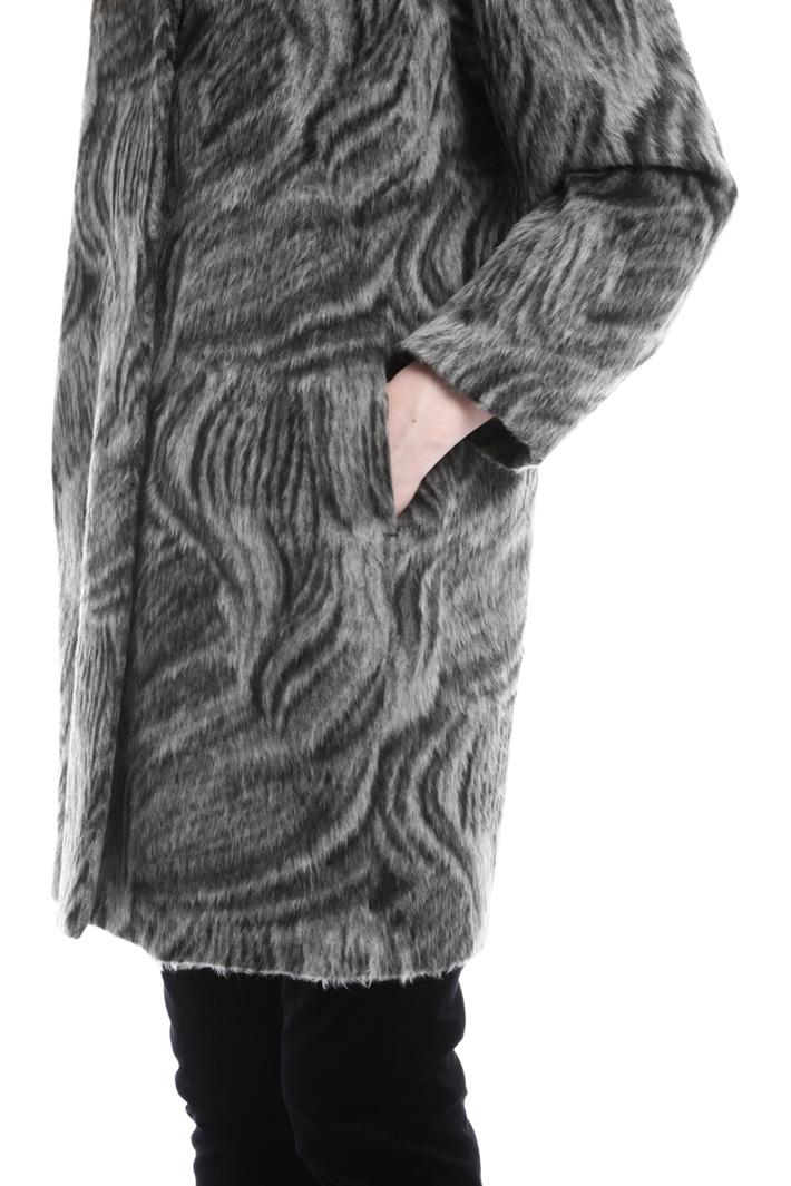Cappotto effetto mohair Diffusione Tessile