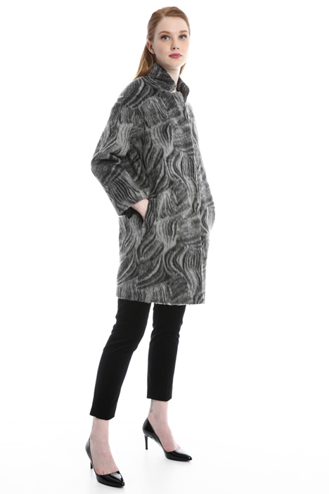 Mohair-effect coat Diffusione Tessile