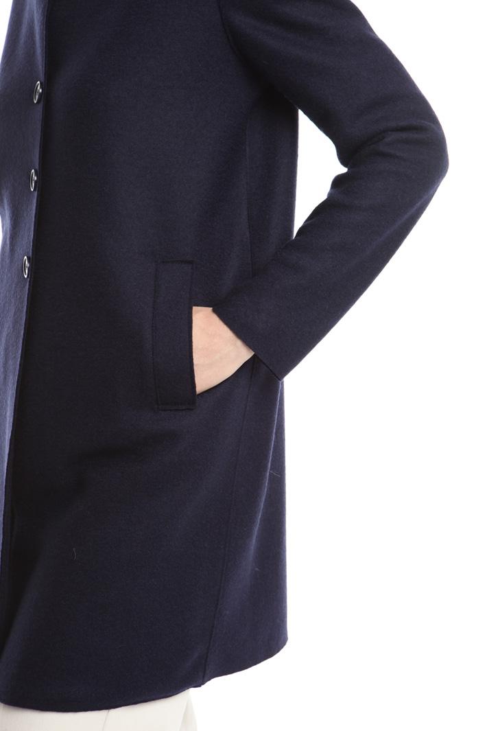 Giacca in feltro di lana Diffusione Tessile
