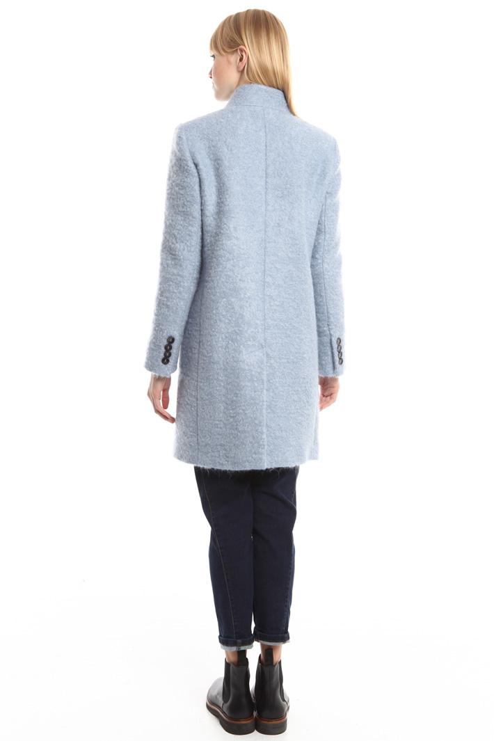 Cappotto in feltro di lana Diffusione Tessile