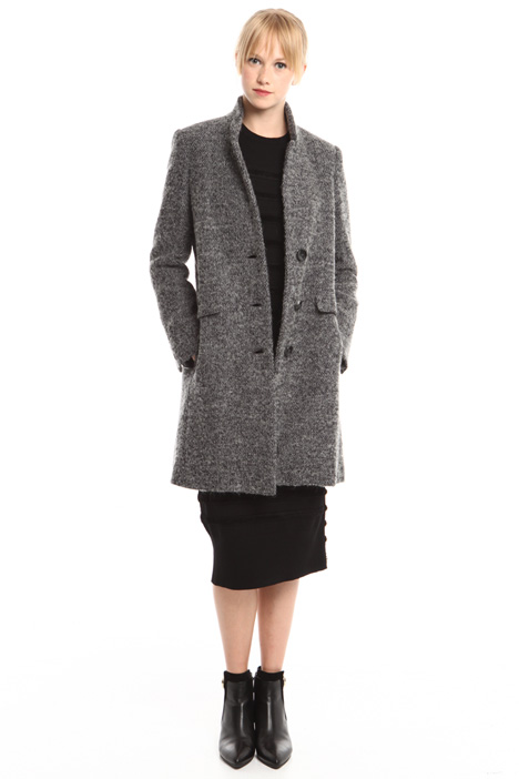 Felted wool coat Diffusione Tessile