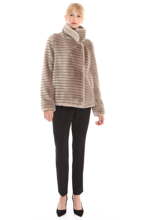 Fur-effect jacket Diffusione Tessile
