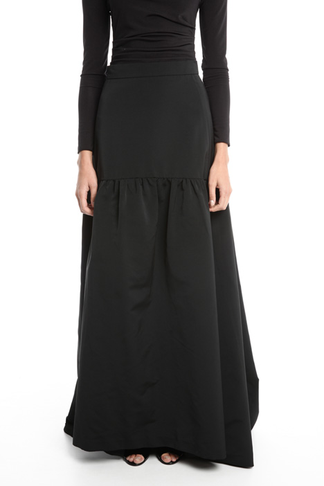 Oversized faille skirt Intrend