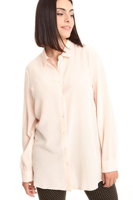 Camicia in crepe de chine Diffusione Tessile