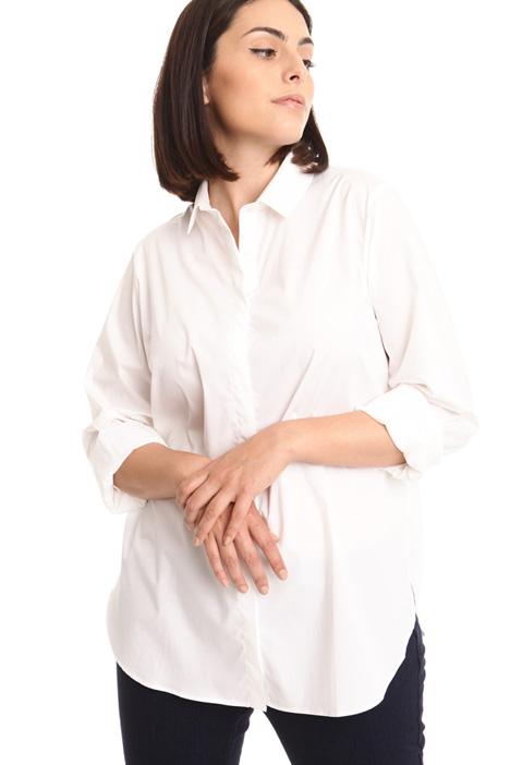 Camicia over con spacchi Diffusione Tessile