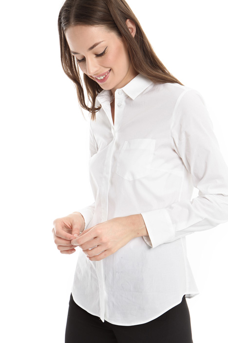 Shirt in cotton poplin Diffusione Tessile