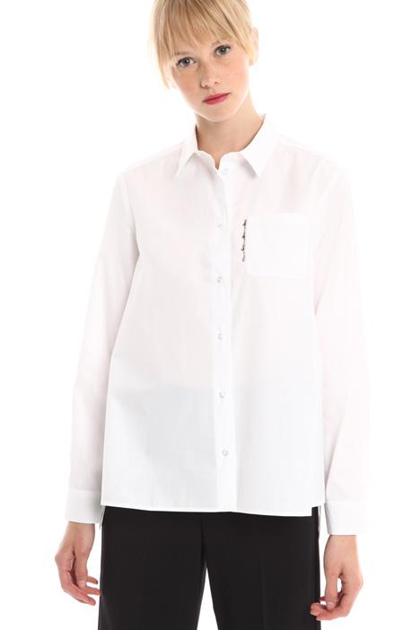 Camicia svasata in popeline Diffusione Tessile