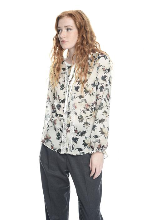 Camicia in georgette stampata Diffusione Tessile