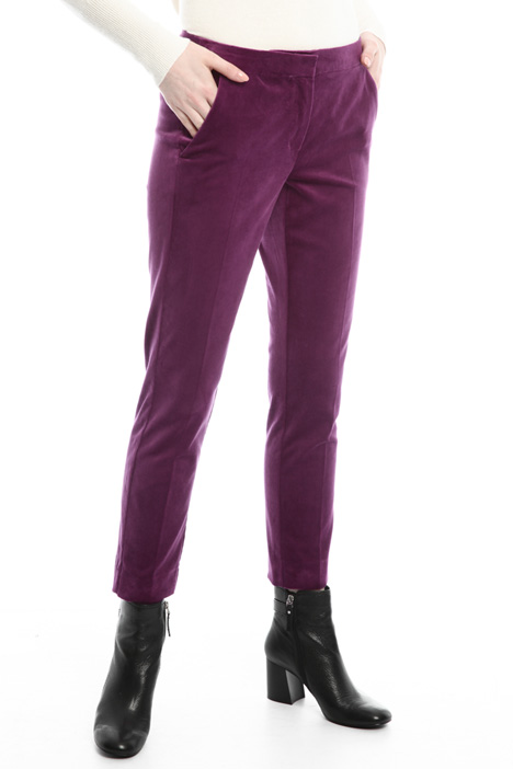 Velvet trousers Diffusione Tessile