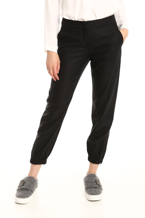 Wool and silk trousers Diffusione Tessile