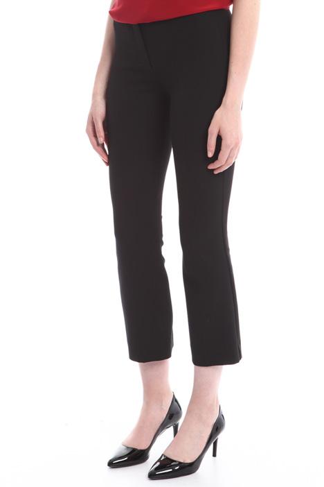Pantaloni cropped senza tasche Diffusione Tessile