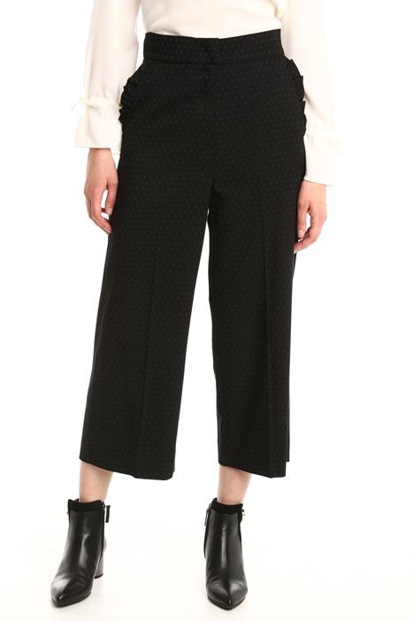 Pantaloni a microfantasia Diffusione Tessile