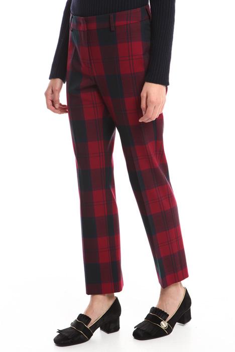 Pantaloni in flanella check Diffusione Tessile