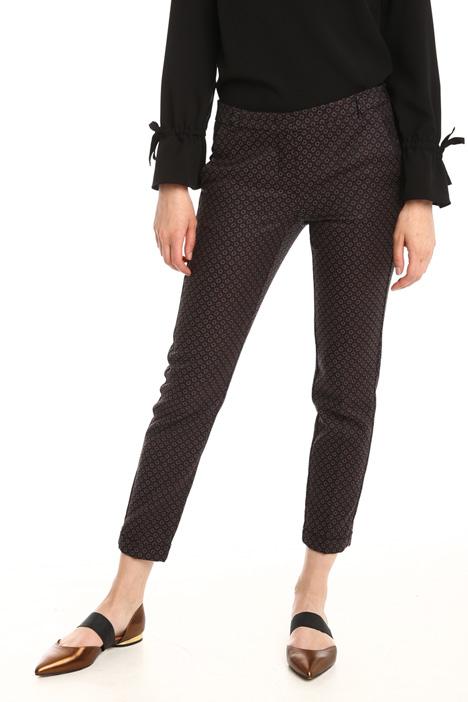 Pantalone in jacquard stretch Diffusione Tessile