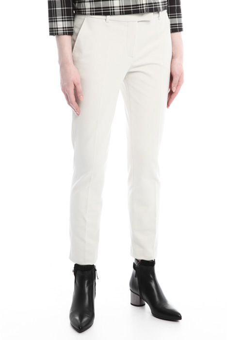 Trousers in cotton drill Diffusione Tessile