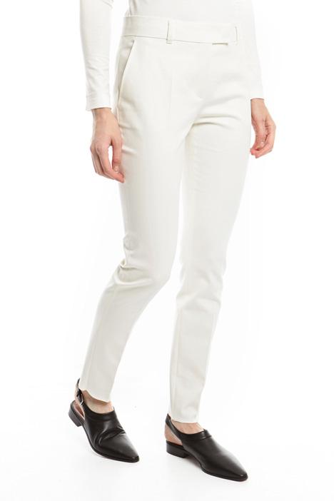 Pantaloni stretch in cotone Diffusione Tessile