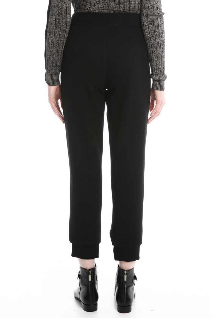 Pantaloni in piquet Diffusione Tessile