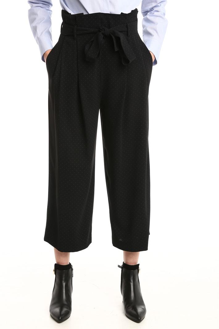 Pantaloni a vita alta Diffusione Tessile