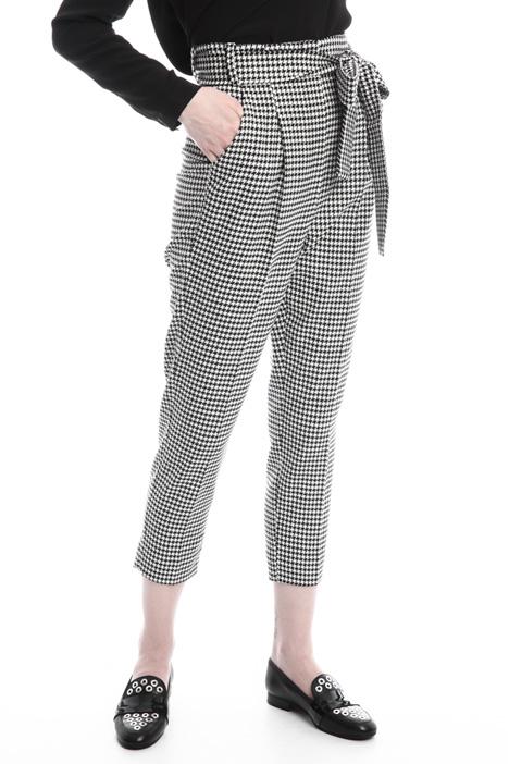 Pantaloni a carota con cintura Diffusione Tessile
